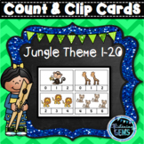 Numbers 1-20 Count and Clip Cards   Counting to 20