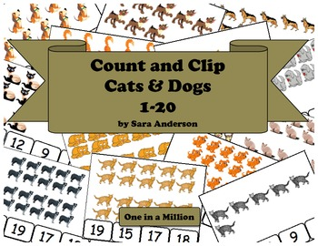 Count and Clip Cats and Dogs