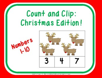 Count and Clip: Christmas Edition