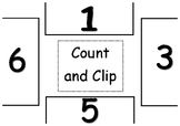 Count and Clip - Counting 1 - 12