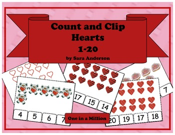 Count and Clip Hearts