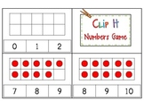 Count and Clip It! Math Center Game