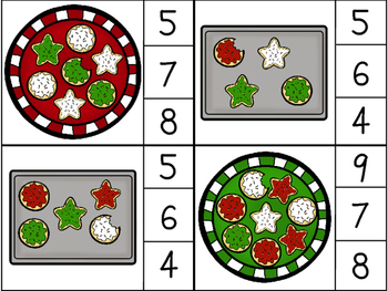 Count and Clip Math Cards