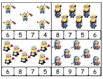Count and Clip Minions
