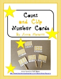 Count and Clip Number Cards