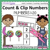 Count and Clip Numbers 1-20