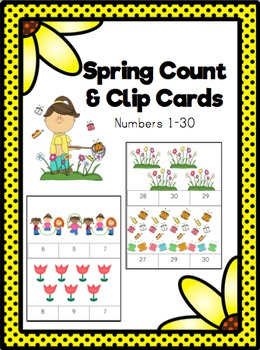 Count and Clip- Spring
