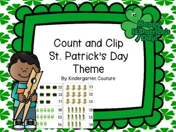 Count and Clip St. Patrick's Day
