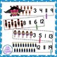 Count and Clip Superheroes, Numbers 1-20 {Common Core}