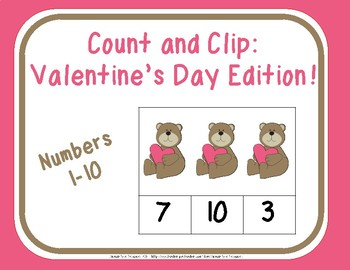 Count and Clip: Valentine's Day Edition