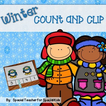 Count and Clip- Winter ~~free~~