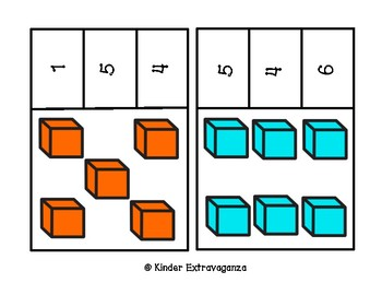 Count and Clip with Cubes