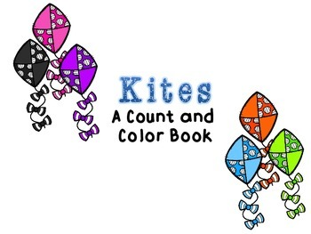 Count and Color Adapted Book: Kites