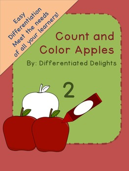 Count and Color Apples