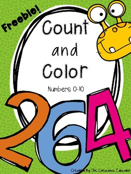 Count and Color Freebie!
