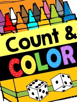 Count and Color: Quick Math Centers