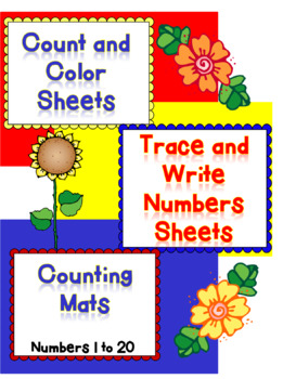 Count and Color Trace and Write Sheets and Mats