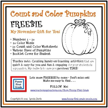 Count and Color Worksheets