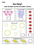 Count and Color Worksheets - One to Ten - Common Core Stat