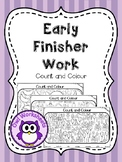 Early Finisher Work - Count and Colour