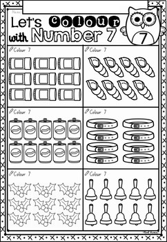Kindergarten Maths Worksheets Australia