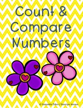 Count and Compare Numbers - Free