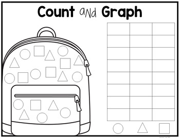 Count and Graph Back to School
