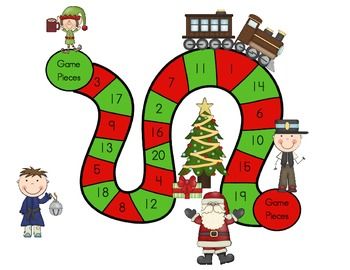 Count and Guess on the Polar Express: A Ten Frame Counting Activity