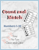 Count and Match Numbers 1-10