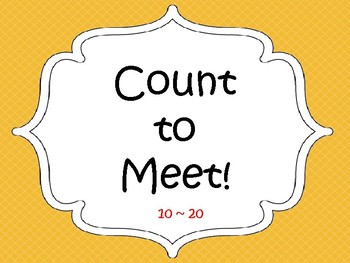 Count and Meet 10-20