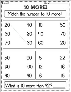 Count and Model Numbers to 120!