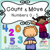 Count and Move Presentation to Build Number Sense of Numbe