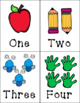 Count and Name Flashcards Numbers 1-20 **Back to School Version