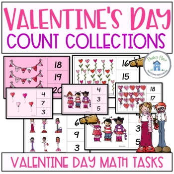 Count and Peg It Valentine's Day