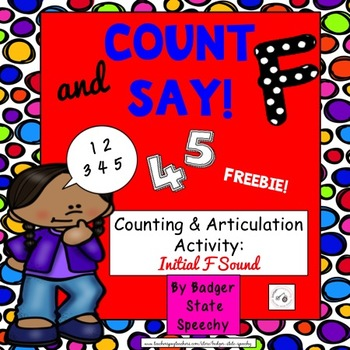 Count and Say:  Initial F Sound