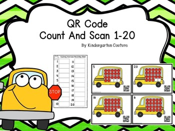 Count and Scan 1-20 Ten Frames