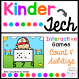 Count and Subitize {Interactive Game}