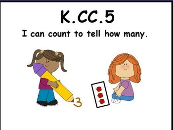 Count and Tell How Many: An Activeboard Math Center Activity (K.CC.5)