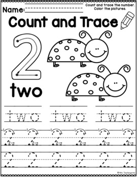 Count and Trace (Insects and Bugs)