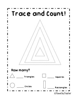 Freebie Count and Trace Shapes