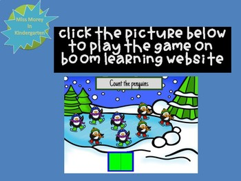 Count and Type 0-20: Penguins  Interactive Boom Cards