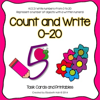 Count and Write 0-20
