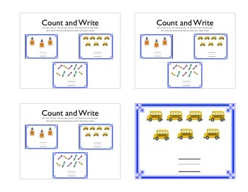 Count and Write 1-10