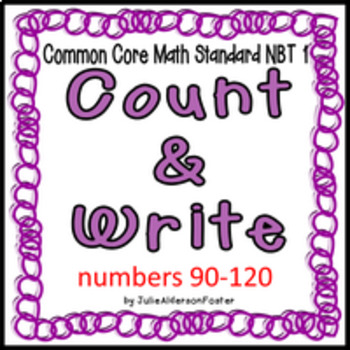 Count and Write   90-120
