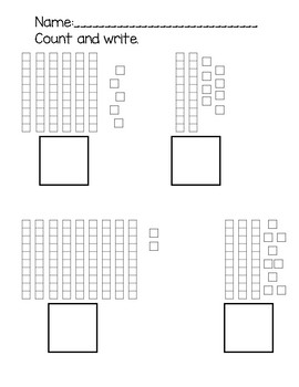 Count and Write Base Ten 10s and 1s to 100