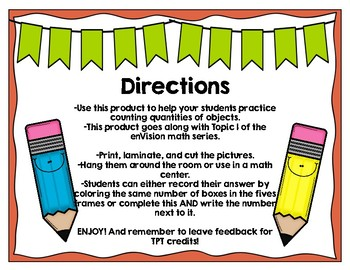 Count and Write: Developing Number Sense for Numbers 1-5