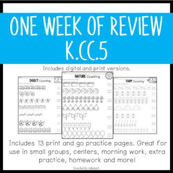 Count and Write How Many {K.CC.5}
