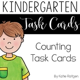 Count and Write How Many Task Cards