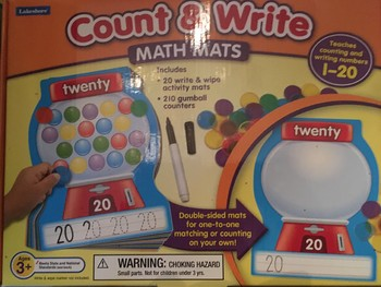 Count and Write Math Mats