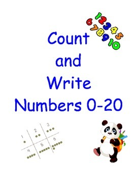 Count and Write Numbers 0-20